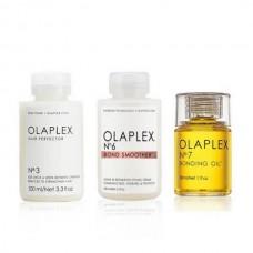 Olaplex Beautify Hair Set (No.3 100ml + No.6 Bond Smoother 100ml + No.7 Bonding Oil 30ml)