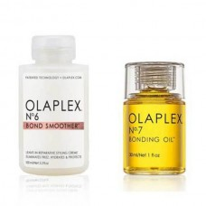 Olaplex Anti Frizz Hair Set (No.6 Bond Smoother 100ml + No.7 Bonding Oil 30ml)