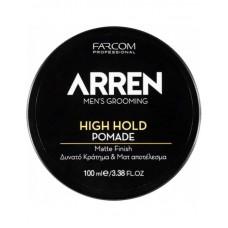 Arren HIGH HOLD Pomade Πομάδα για Δυνατό Κράτημα & Ματ Αποτέλεσμα 100 ml