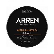 Arren MEDIUM HOLD Pomade Πομάδα για Μεσαίο Κράτημα και Λάμψη 100 ml