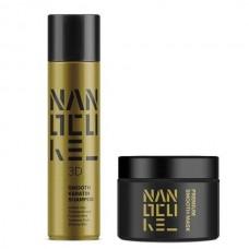 Keratin Nanocure® 3D Smooth Set (Shampoo 500ml, Mask 250ml)