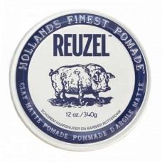 Reuzel Clay Matte Pomade Hog Water Soluble 340gr