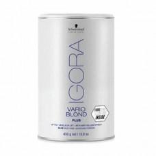 Schwarzkopf Professional Igora Vario Blond Plus Powder Lightener 450gr