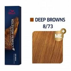 Wella Koleston Perfect Me Plus Deep Browns 8/73 60ml