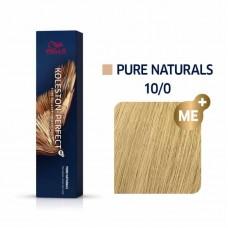 Wella Koleston Perfect Me Plus Pure Naturals 10/0 60ml