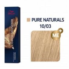 Wella Koleston Perfect Me Plus Pure Naturals 10/03 60ml
