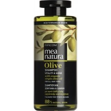 Mea Natura Olive Vitality & Shine Σαμπουάν 300ml